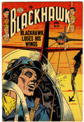 Golden Age (1938-1955):War, Blackhawk #63 (Quality, 1953) Condition: FN/VF....
