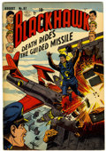 Golden Age (1938-1955):War, Blackhawk #67 (Quality, 1953) Condition: VG/FN....