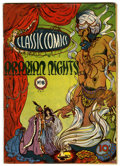 Golden Age (1938-1955):Classics Illustrated, Classic Comics #8 Arabian Nights - Original Edition (Gilberton, 1943) Condition: VG-....