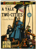 Golden Age (1938-1955):Classics Illustrated, Classic Comics #6 A Tale of Two Cities - Original Edition(Gilberton, 1942) Condition: VG/FN....