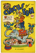 Golden Age (1938-1955):Funny Animal, Circus of Fun #1 (A.W. Nugent, 1945) Condition: FN....