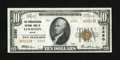 National Bank Notes:Maine, Lewiston, ME - $10 1929 Ty. 2 The Manufacturers NB Ch. # 2260. ...
