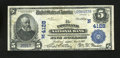 National Bank Notes:Maine, Portland, ME - $5 1902 Plain Back Fr. 600 The Portland NB Ch. #(N)4128. ...