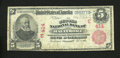 National Bank Notes:Maryland, Baltimore, MD - $5 1902 Red Seal Fr. 587 The Second NB Ch. #(E)414. ...