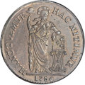 Netherlands East Indies, Netherlands East Indies: Westfriesland. 3 Gulden 1786 VOC....