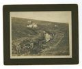 "Western Expansion:Goldrush, Large Sluice Gold Mining Photograph ""Dexter Mining,"" Alaska, circalate 1890s. ..."