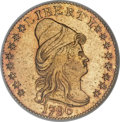 Early Quarter Eagles, 1796 $2 1/2 Stars MS62 NGC....