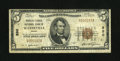 National Bank Notes:Maine, Waterville, ME - $5 1929 Ty. 1 The Peoples-Ticonic NB Ch. # 880....
