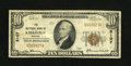 National Bank Notes:Missouri, Kirksville, MO - $10 1929 Ty. 1 The NB of Kirksville Ch. # 5107....