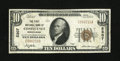 National Bank Notes:Pennsylvania, Confluence, PA - $10 1929 Ty. 1 The First NB Ch. # 5307. ...