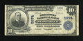 National Bank Notes:Pennsylvania, Scottdale, PA - $10 1902 Plain Back Fr. 633 The Broadway NB Ch. #5974. ...