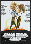 "Movie Posters:Adventure, Zulu Dawn (Croatia Film, 1979). Yugoslavian Poster (19"" X 27.5"").Adventure...."