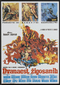 "Movie Posters:War, The Dirty Dozen (MGM, 1967). Yugoslavian Poster (19"" X 27"").War...."