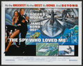 "Movie Posters:James Bond, The Spy Who Loved Me (United Artists, 1977). Half Sheet (22"" X28""). James Bond...."