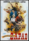 "Movie Posters:Documentary, The Wild West (Croatia Film, 1987). Yugoslavian Poster (19.75"" X 27.75""). Western Documentary...."