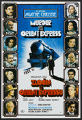 "Movie Posters:Mystery, Murder on the Orient Express (Croatia Film, 1975). YugoslavianPoster (18.5"" X 27""). Mystery...."