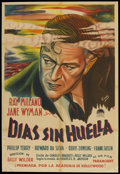 "Movie Posters:Drama, The Lost Weekend (Paramount, 1945). Argentinean Poster (29.5"" X43""). Drama...."
