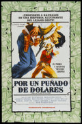 """Movie Posters:Western, A Fistful of Dollars (Lutecia Films, 1967). Argentinean Poster (29"""" X 43""""). Western...."""