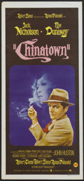 "Movie Posters:Mystery, Chinatown (Paramount, 1974). Australian Daybill (13.5"" X 30"").Mystery...."