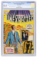 Silver Age (1956-1969):Horror, Tales of the Unexpected #9 (DC, 1957) CGC VF 8.0 Off-whitepages....