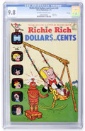 Bronze Age (1970-1979):Humor, Richie Rich Dollars and Cents #40 - File Copy (Harvey, 1971) CGCNM/MT 9.8 Off-white to white pages....