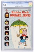 Bronze Age (1970-1979):Humor, Richie Rich Dollars and Cents #38 - File Copy (Harvey, 1970) CGCNM+ 9.6 Off-white to white pages....