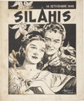 Original Comic Art:Covers, Francisco V. Coching Silahis Magazine Cover OriginalArt (1946)....