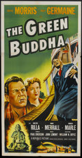 "Movie Posters:Crime, The Green Buddha (Republic, 1955). Three Sheet (41"" X 81""). Crime...."