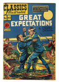 Golden Age (1938-1955):Classics Illustrated, Classics Illustrated #43 Great Expectations - First Edition(Gilberton, 1947) Condition: VG-....