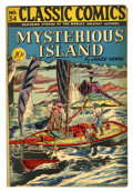 Golden Age (1938-1955):Adventure, Classic Comics #34 Mysterious island - First Edition (Gilberton, 1947) Condition: FN....