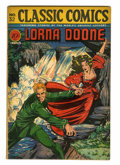Golden Age (1938-1955):Classics Illustrated, Classic Comics #32 Lorna Doone - First Edition (Gilberton, 1946)Condition: FN....