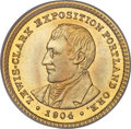 Commemorative Gold, 1904 G$1 Lewis and Clark MS66 PCGS. CAC....