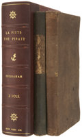 Books, [Joseph Holt Ingraham.] Lafitte: the Pirate of the Gulf. NewYork: Harper & Brothers, 1836. First edition. Two 12mo ...(Total: 2 Items)