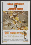 "Movie Posters:James Bond, You Only Live Twice (United Artists, 1967). Indian Poster (27"" X40""). James Bond...."