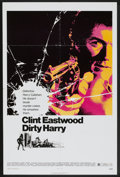 "Movie Posters:Crime, Dirty Harry (Warner Brothers, 1971). One Sheet (27"" X 41"").Crime...."