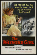 "Movie Posters:Bad Girl, The Wayward Girl (Republic, 1957). One Sheet (26.5"" X 41""). FlatFolded. Bad Girl...."