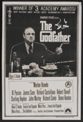 "Movie Posters:Crime, The Godfather (Paramount, 1972). Indian One Sheet (26.75"" X 40"").Crime...."