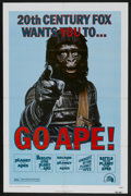 """Movie Posters:Science Fiction, Go Ape! (20th Century Fox, 1974). One Sheet (27"""" X 41""""). ScienceFiction...."""