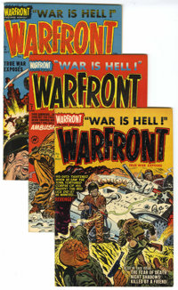 Warfront File Copies Group (Harvey, 1952-66) Condition: Average VF/NM.... (Total: 31 Comic Books)