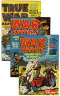 Golden Age (1938-1955):Miscellaneous, Harvey Assorted War Comics File Copies Group (Harvey, 1952-53) Condition: Average VF.... (Total: 8 Comic Books)