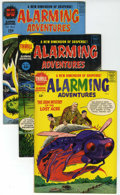 Silver Age (1956-1969):Horror, Alarming Adventures #1-3 File Copies Group (Harvey, 1957-58)Condition: Average VF+.... (Total: 3 Comic Books)