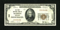 National Bank Notes:Wisconsin, Madison, WI - $20 1929 Ty. 1 The First NB Ch. # 144. ...