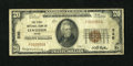 National Bank Notes:Maine, Lewiston, ME - $20 1929 Ty. 1 The First NB Ch. # 330. ...
