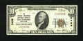 National Bank Notes:Maryland, Baltimore, MD - $10 1929 Ty. 1 The Drovers & Mechanics NB Ch. #2499. ...