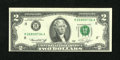 Error Notes:Shifted Third Printing, Fr. 1935-H $2 1976 Federal Reserve Note. Choice Crisp Uncirculated.. ...