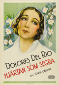 """Movie Posters:Drama, Evangeline (United Artists, 1929). Swedish One Sheet (27.5"""" X 39.5""""). Directed by Edwin Carewe. Starring Dolores Del Rio. Th..."""