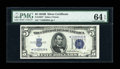 Small Size:Silver Certificates, Fr. 1652* $5 1934B Silver Certificate. PMG Choice Uncirculated 64 EPQ.. ...