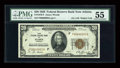 Small Size:Federal Reserve Bank Notes, Low Serial Number Fr. 1870-F $20 1929 Federal Reserve Bank Note. PMG About Uncirculated 55.. ...