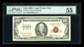 Small Size:Legal Tender Notes, Fr. 1551 $100 1966A Legal Tender Note. PMG About Uncirculated 55.. ...