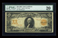 Large Size:Gold Certificates, Fr. 1183 $20 1906 Gold Certificate Star Note PMG Very Fine 20....